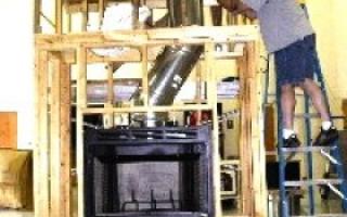 Как правильно сделать дымоход для камина?