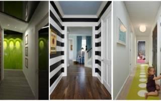 Дизайн прихожей в квартире с длинным коридором