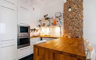 Дизайн комнаты с деревянными стенами