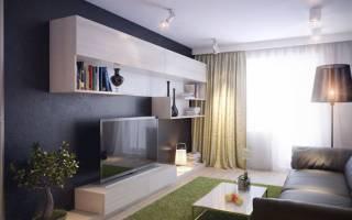 Современный интерьер маленькой гостиной фото