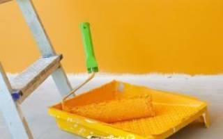 Как покрасить бетонную стену в квартире