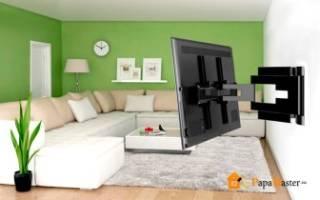 Можно ли повесить телевизор на гипсокартонную стену