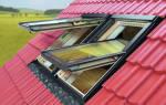 Как сделать окно на крыше?