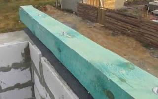 Как крепить мауэрлат к кирпичной стене, крепление швеллера к бетону