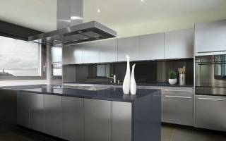 Кухня в стиле хайтек фото в интерьере