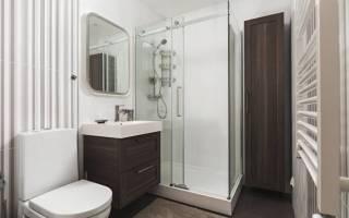 Ванные комнаты с душевыми кабинами интерьер фото
