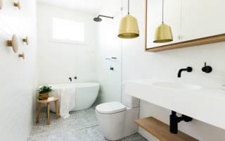 Интерьеры ванных комнат маленьких размеров