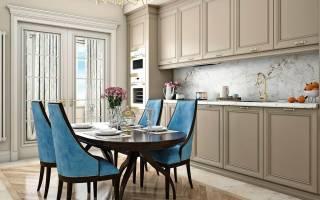 Кухня в неоклассическом стиле дизайн