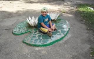 Ландшафтный дизайн детского сада