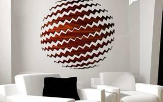 Дизайн комнаты с панно