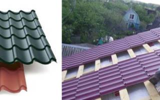Как стелить металлочерепицу на крышу, видео
