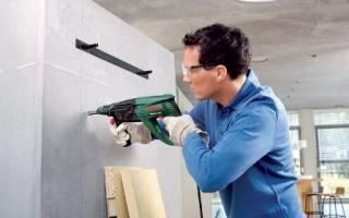Как просверлить бетонную стену с арматурой