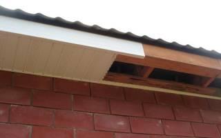 Как правильно подшить карниз крыши?