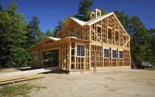 Из чего строят каркасные дома: что значит каркасный дом?
