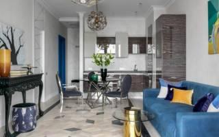 Современные интерьеры кухни совмещенной с гостиной