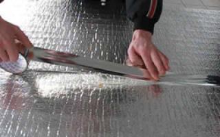 Утеплитель вспененный полиэтилен фольгированный – теплоизоляционная фольга