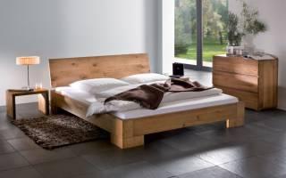 Дизайн кроватей из дерева