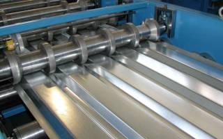 Станок для производства металлопрофиля, изготовление профлиста
