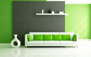 Дизайн комнаты с белым диваном