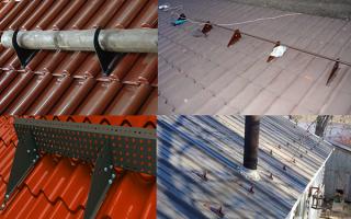 Как самому сделать снегозадержатели на крышу, снегозадерживающие устройства на кровле чертежи