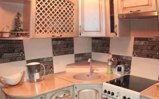 Кухня в малогабаритной квартире дизайн фото
