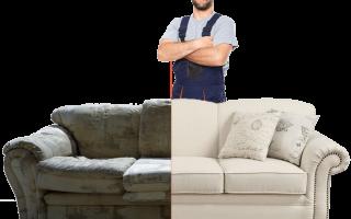 Перетяжка мягкой мебели: новый облик диванов и кресел