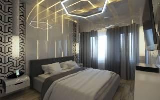 Дизайн комнаты хай тек