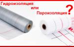 Гидроизоляция и пароизоляция в чем разница, материал пропускающий воду в одну сторону