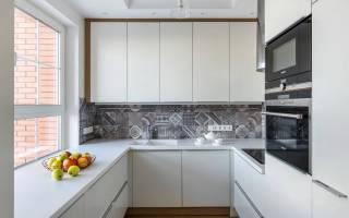 Кухня 6м2 дизайн