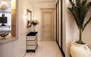 Дизайн интерьера маленькой прихожей в квартире фото