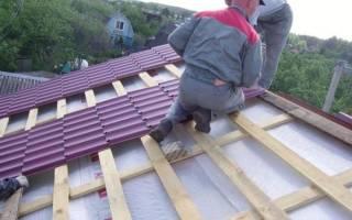 Как крепить металлочерепицу на крыше саморезами фото, схема крепления