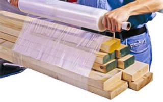 Как стрейч пленка используется в строительстве