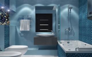 Интерьер ванной комнаты в обычной квартире фото