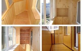 Как обшить балкон вагонкой, видео