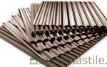 Виды металлических профилей: маркировка металлопрофиля