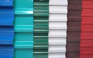 Цвета профлиста для забора, профнастил зеленый мох фото