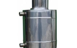 Теплообменник на дымоход для отопления
