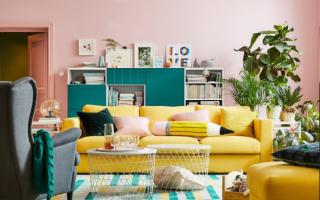 Дизайн комнаты с мебелью икеа