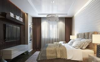Дизайн спальни 15 метров