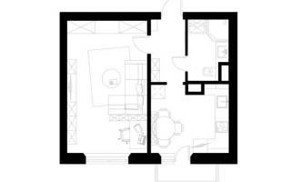 Дизайн комнаты 36 кв м