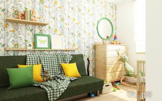 Дизайн интерьера комнаты для детей