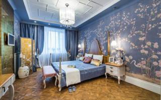 Дизайн комнат под обои