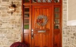 Виды входных дверей: арочные, межкомнатные, термоустойчивые
