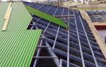 Профиль на крышу, работа с металлопрофилем
