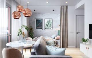 Дизайн интерьера квартиры 40 кв м