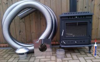 Гибкий дымоход для газового котла – жаростойкая гофра