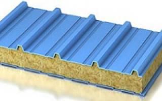 Крыша из сэндвич панелей для индивидуального строительства, кровля из сендвичные панели