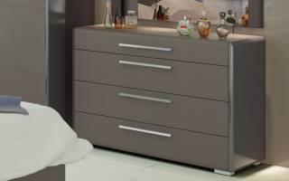 Дизайн комодов для спальни