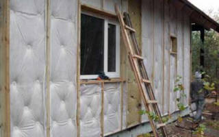 Утепление стен из пеноблоков снаружи под сайдинг
