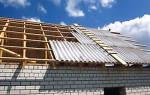 Как правильно крыть крышу шифером, видео